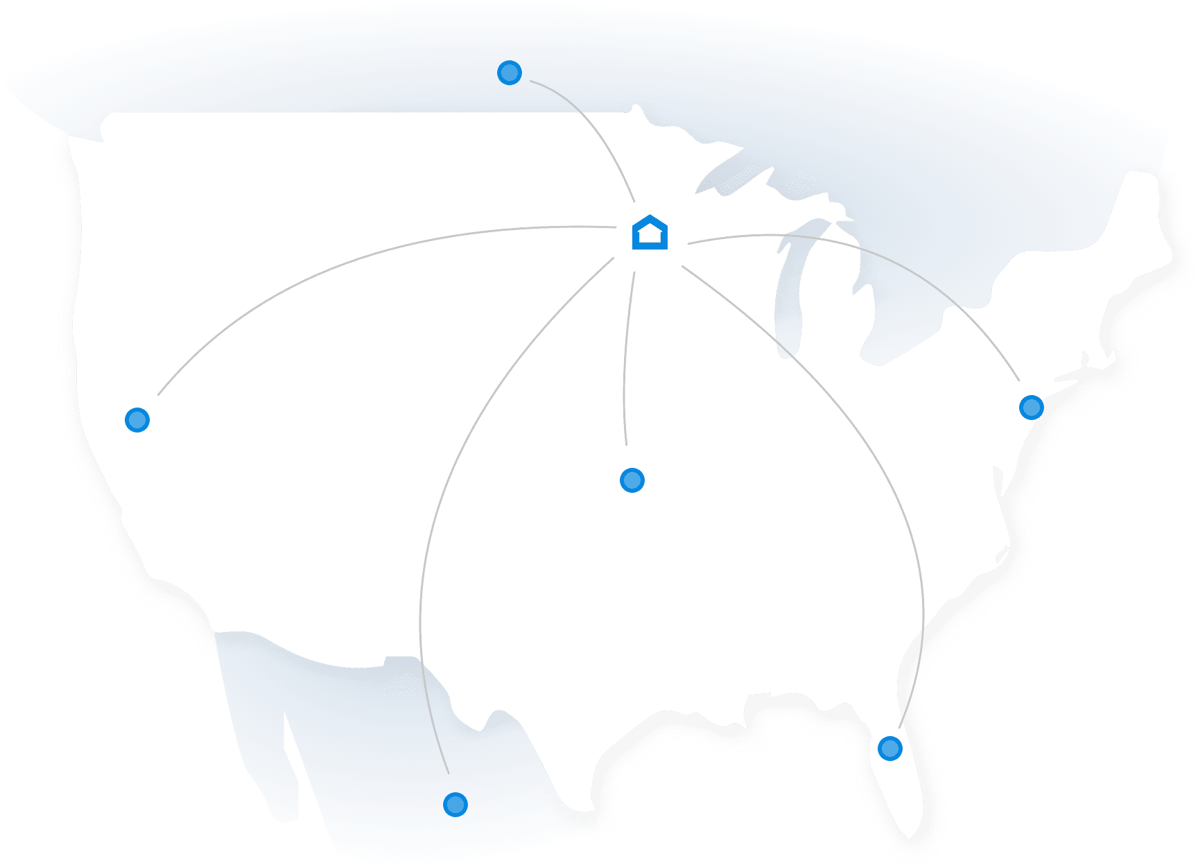Ship anywhere in North America